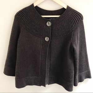 Banana Republic Small Top Button Cardigan  Merino